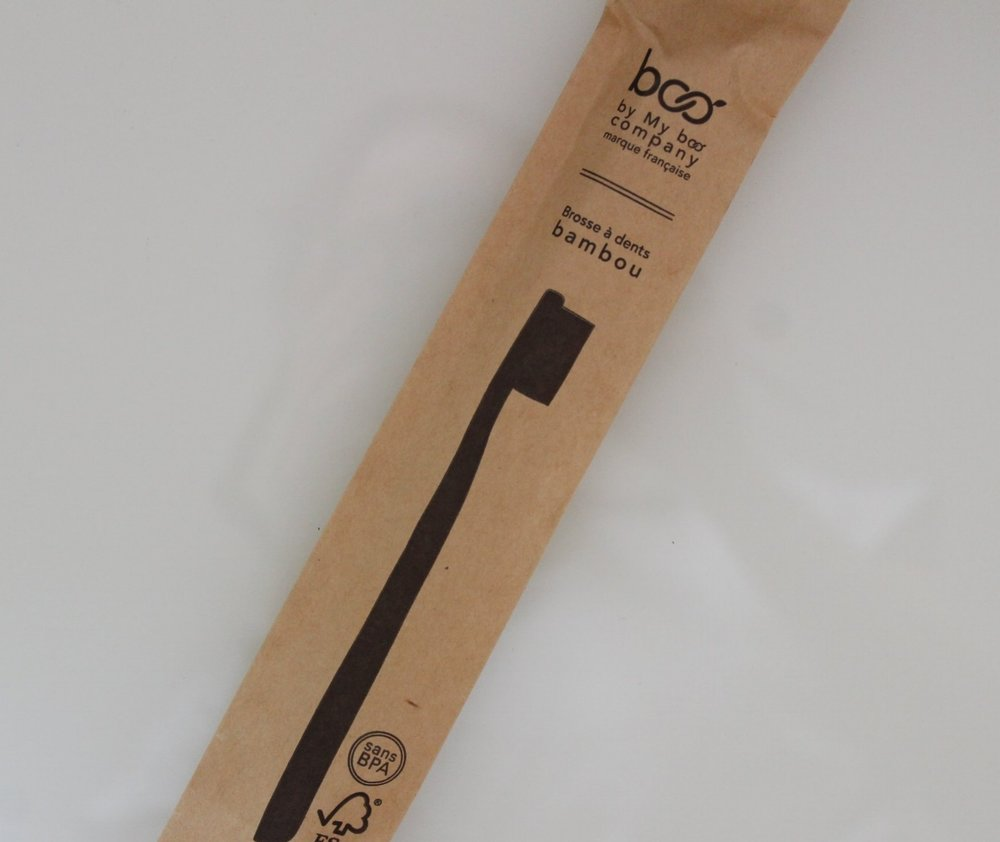 Bamboo ToothbrushMy Boo Company - The hande of Boo toothbrush is made from bamboo moso: soft, light, naturally anti-bacterial and compostable. Boo's bristles are made from nylon-6 are 100% recyclable and vegan.