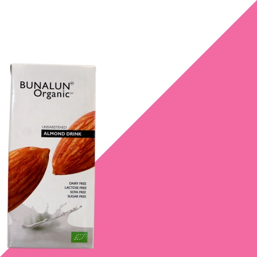 Almond Drink Unsweetened - Bunalun Organic Almond Drink Unsweetened made with premium Spanish almonds, including the highly prized Marcona & Mallorca varieties.