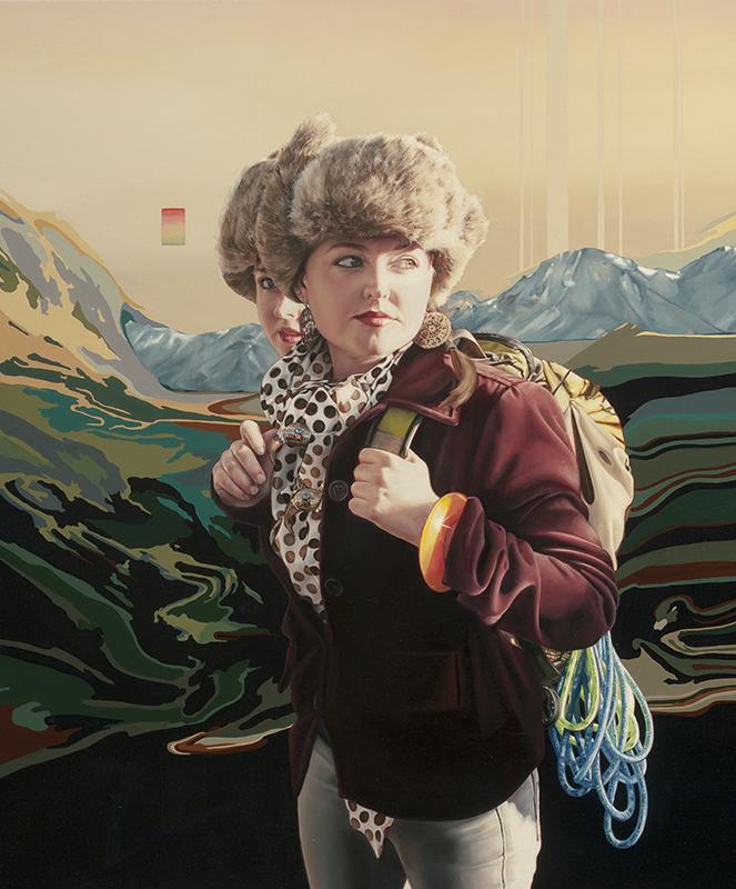 The Internationalist 2012 oil on canvas