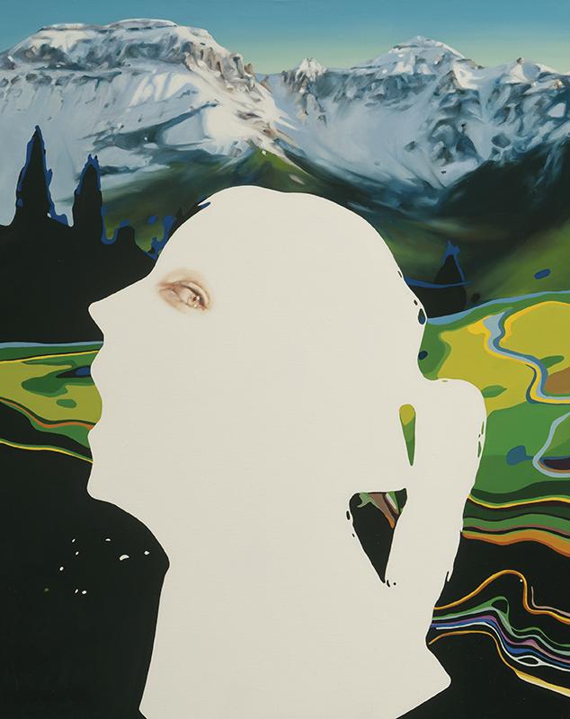 Call O Wilde 2012 oil on canvas