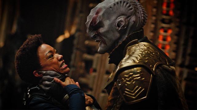 Michael and Klingon