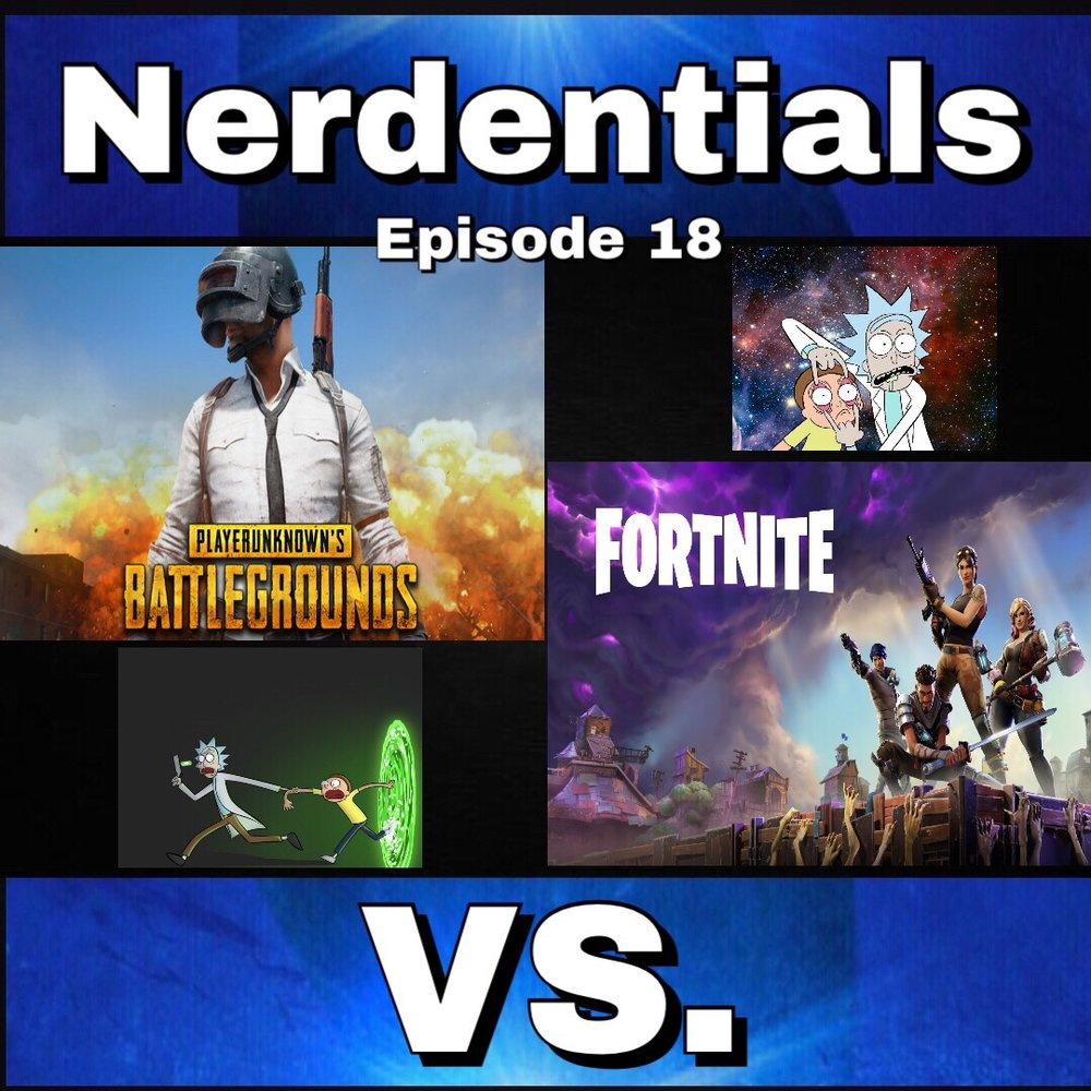 - This week Joe, Nick and Lynn are Joined once again by Geoff to discuss the Controversy of PUBG (Player Unknown Battle Ground's) concerns towards big brother Epic Games and their version of the Battle Royale game mode in Fortnite. And  of course we can't start our show without a little banter and maybe some not so secret love for a Mad Scientist and his bewildered grandson sidekick. Rick and Morty Style...