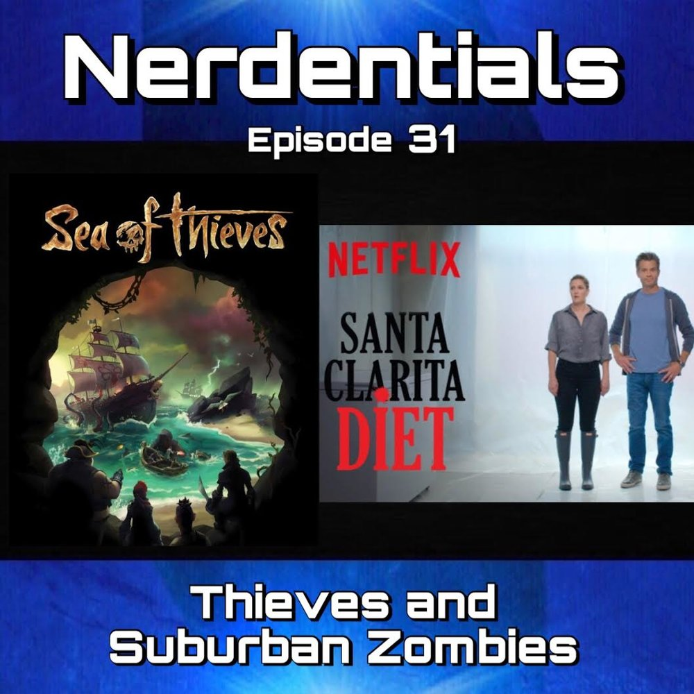 - Hey Nerds! This week Joe, Matt, Nick and Lynn are joined by guest Stitch fellow nerd and friend to chat about the latest in nerdom! Nick finally checked out Thor: Ragnarok which bolsters another discussion on Infinity War...don't worry folks...only for a few minutes then Nick also checked out Alien Covenant. Briefly we talk about Marvel pulling down the Deadpool Animated series for FX. Then Matt talks about losing his faith in Riverdale? Listen to find out why. Then our guest Stitch talks about catching up on some Avengers animated series looking for clues about Infinity War. The boys then dive into a spoiler free take with our review of the Netflix original series Santa Clarita Diet Season 2! Boy is it killer one! Then our general feelings on Sea of Thieves and it's many plunders...er wonders!