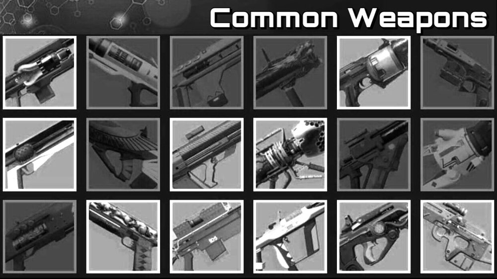 Common Weapons -