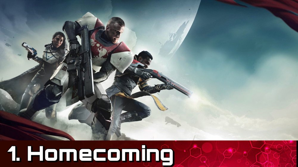 Homecoming - Return to The City and protect your fellow Guardians from an assault from a new legion of The Cabal.