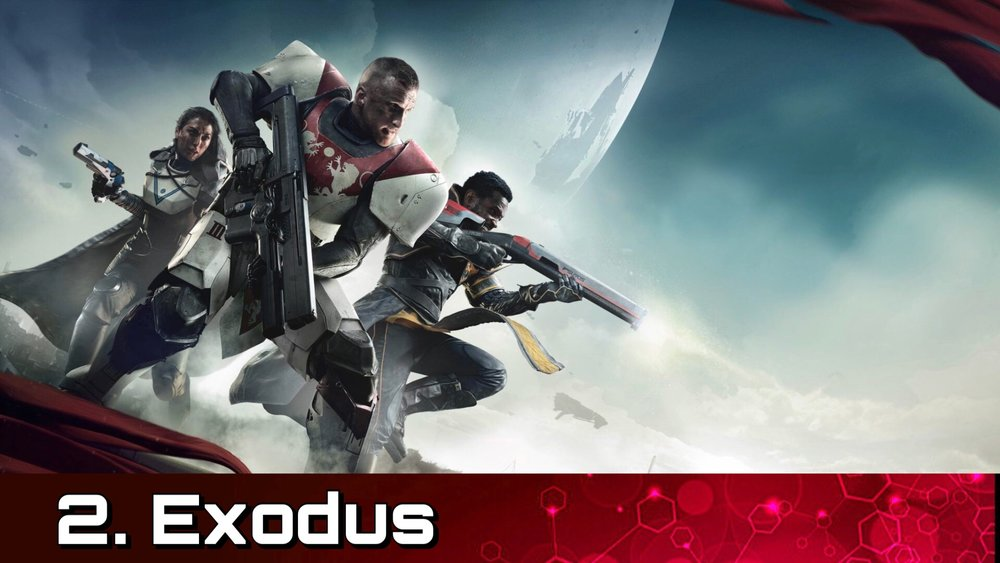 Exodus - Escape the ruins of The City and make your way to The Farm.