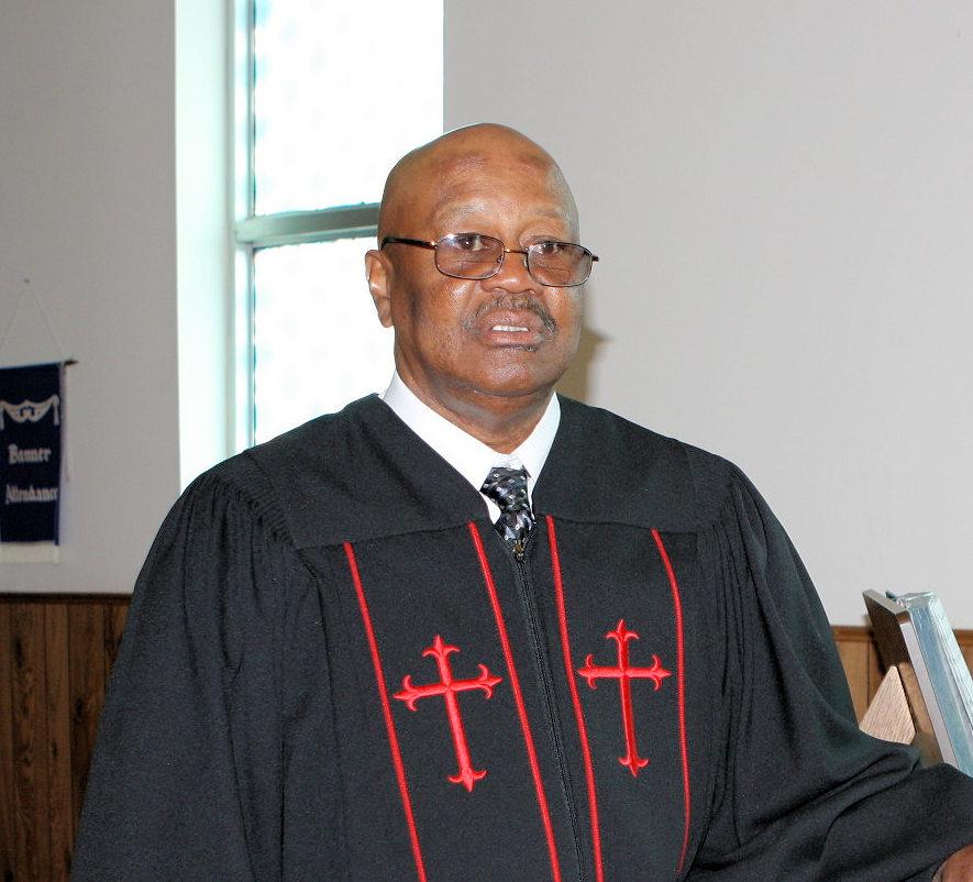 Rev. James Barnett, Gaines Chapel - Anniston