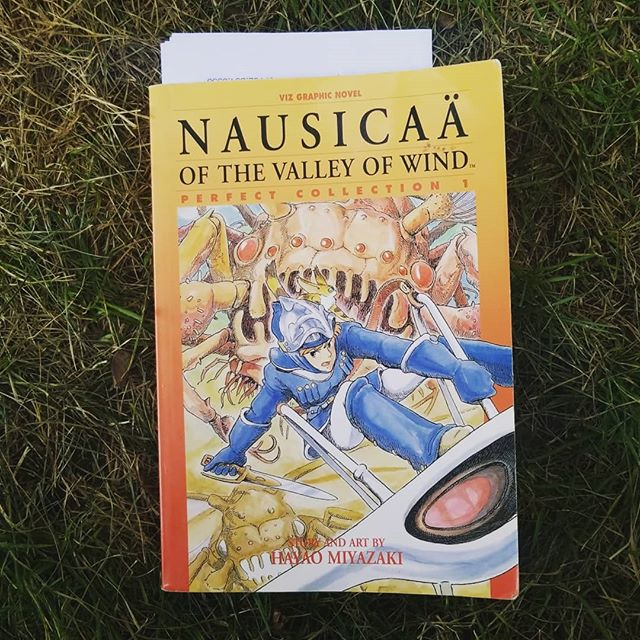 New book. . . . . . .  #nausicaa #newbook #graphicnovel #comics #comicbooks #hayaomiyazaki