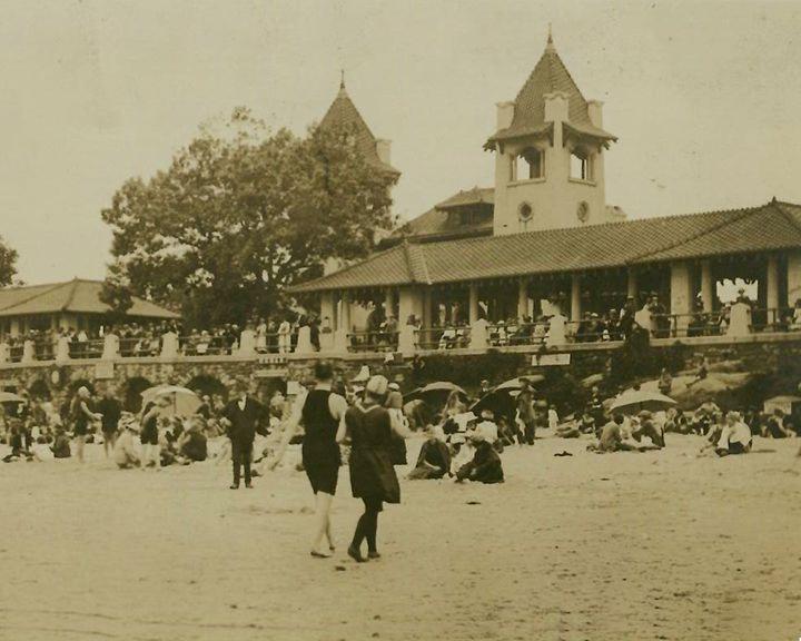 Beach c 1920s