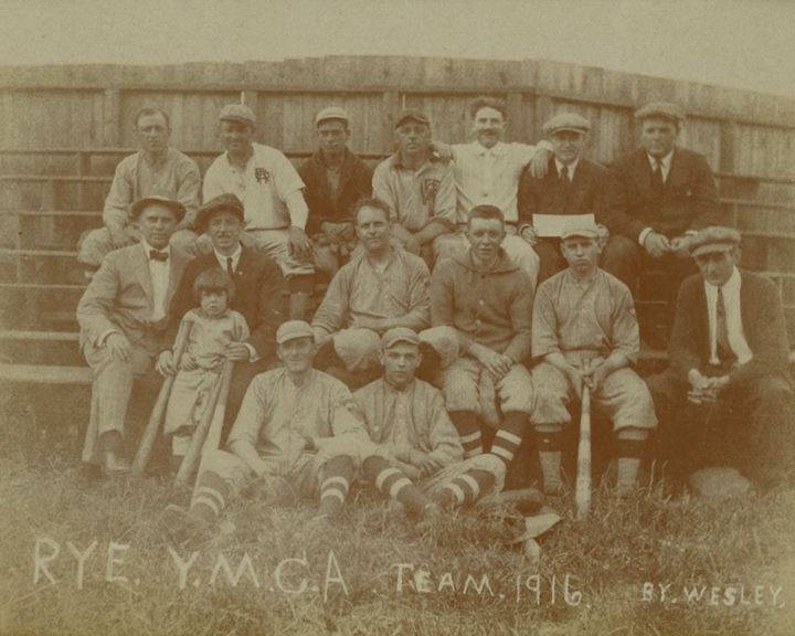 Rye YMCA Baseball Team 1916