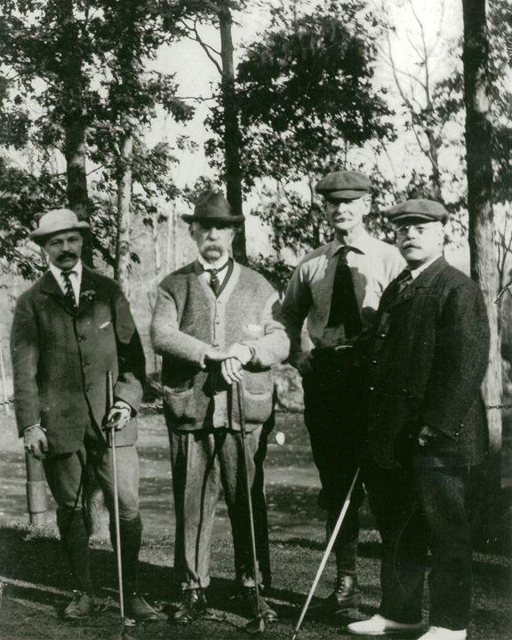 Golf foursome c. 1900's