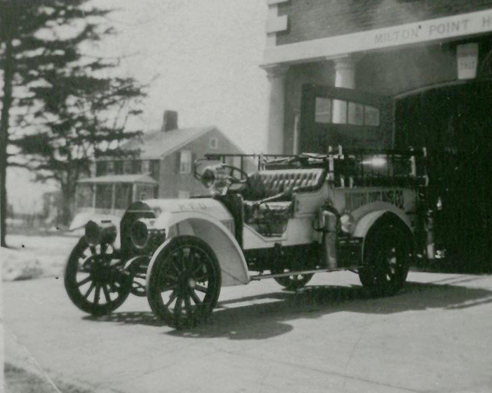 Milton Point Firehouse c 1915