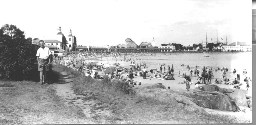 VIew of Playland 1932