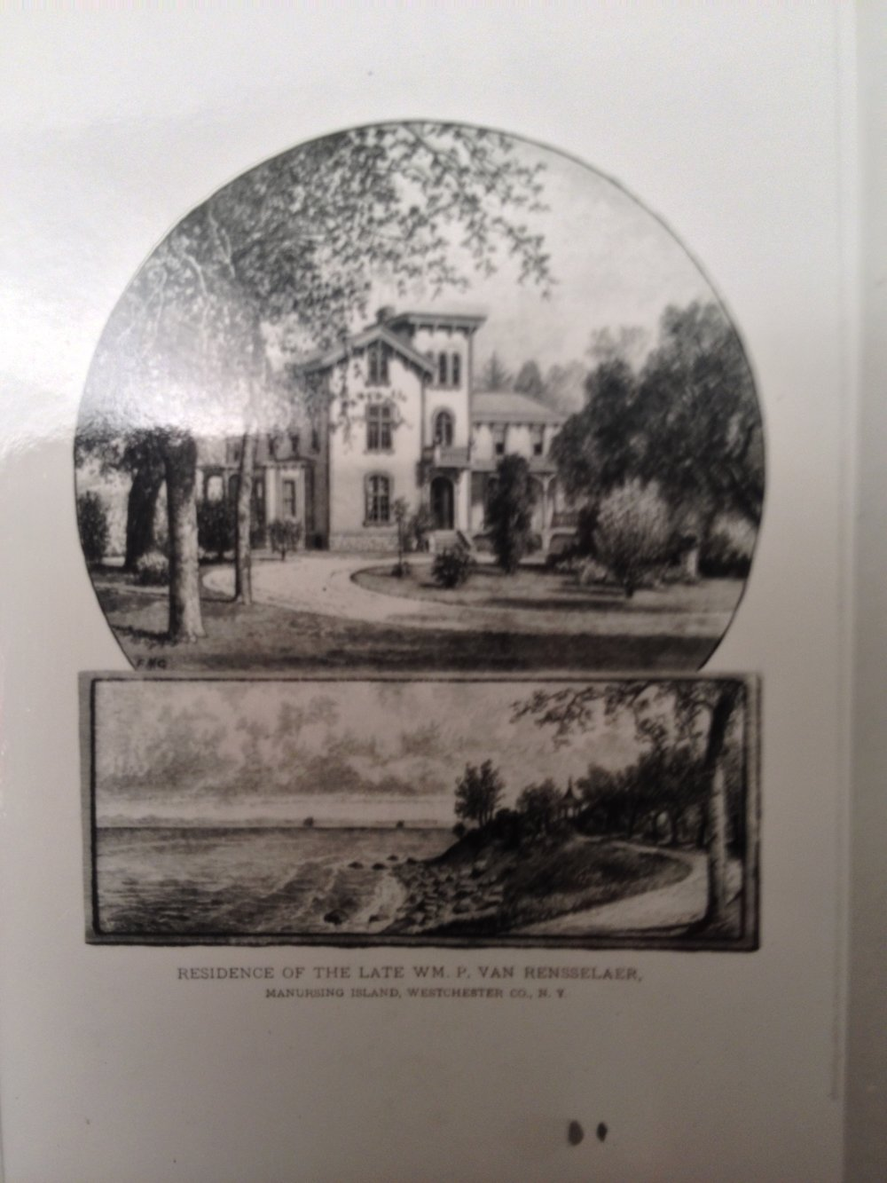 Van Rensselear Home Collection of The Rye Historical Society