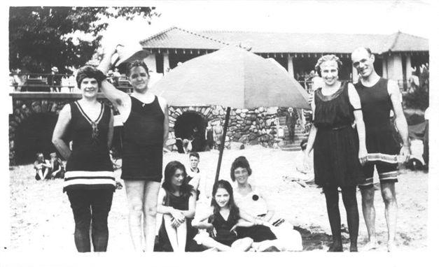 Rye Beach c 1920s