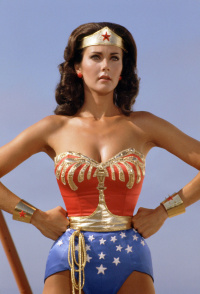 Lynda Carter in the  New Adventures of Wonder Woman