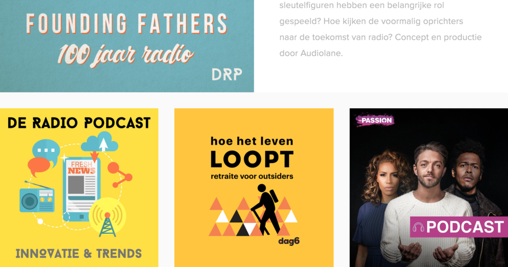 Podcast producties -