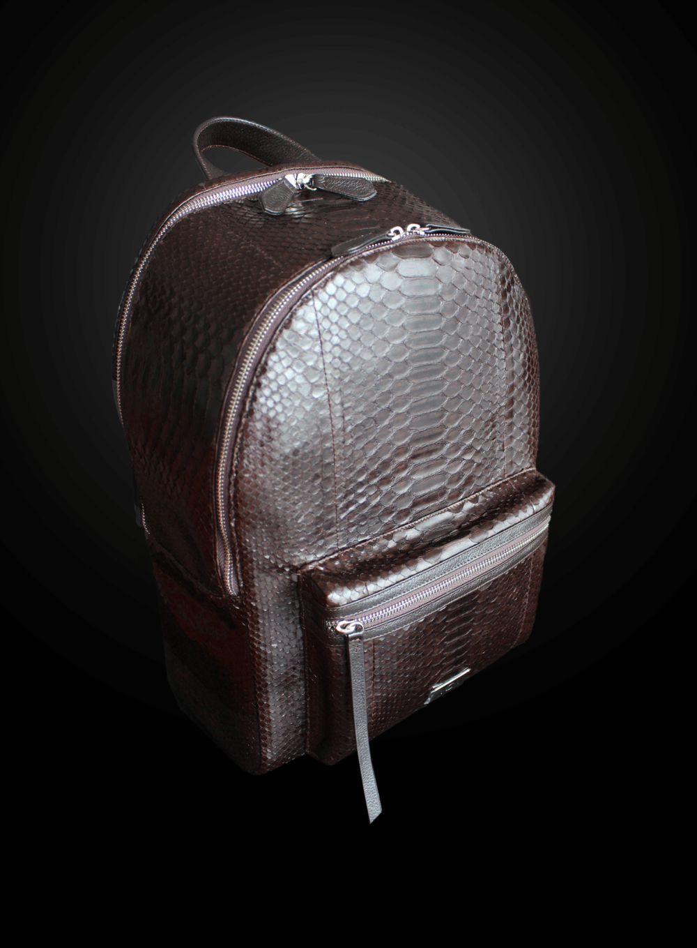men's snakeskin backpack