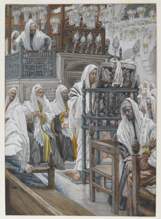 Brooklyn_Museum_-_Jesus_Unrolls_the_Book_in_the_Synagogue_Jésus_dans_la_synagogue_déroule_le_livre_-_James_Tissot_-_overall.jpg