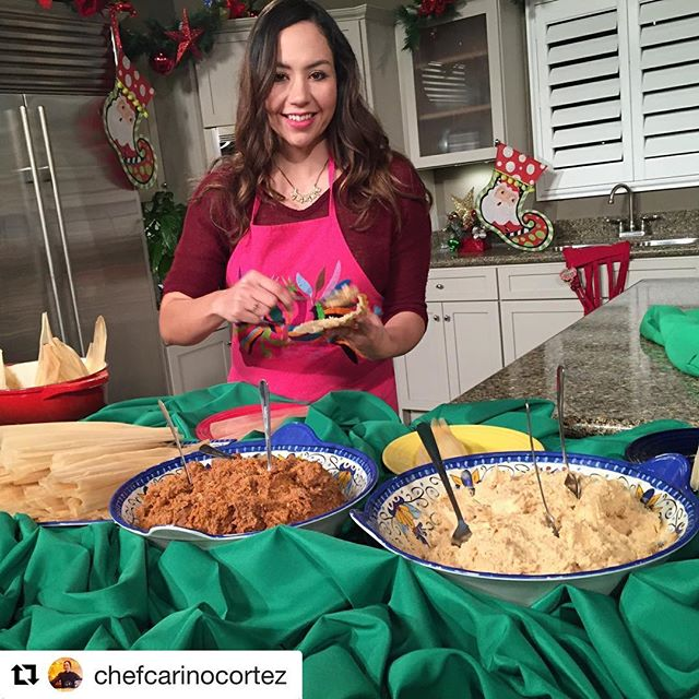 It's my favorite time of year! I love teaching your little ones the meaning of a Tamalada and passing down this cultural tradition, we have the cutest kids' Tamalada happening on December 15th, lots of fun activities for the little ones and sharing this holiday tradition. Tickets are for sale at the link in the bio 🤗#mexicanfood #tamales #tamalada #sanantonio #safoodie #maseca @lafamiliacortez @picodegallosa #latinachef #momlife