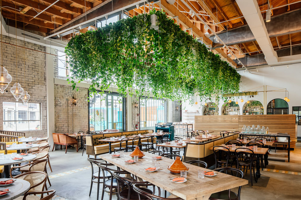 Bavel restaurant in DTLA Arts District / Award winning design by Studio Unltd / Photography by Tanveer Badal