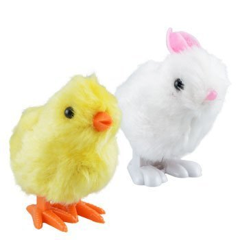 Classic Wind-Up Chick and Bunny