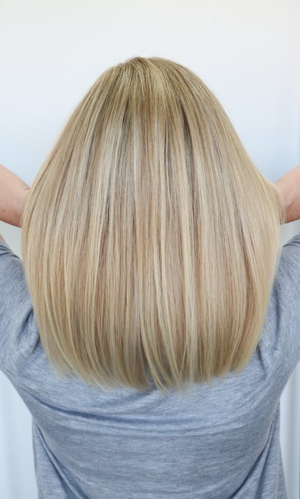 Beautiful blonde color by Ben.