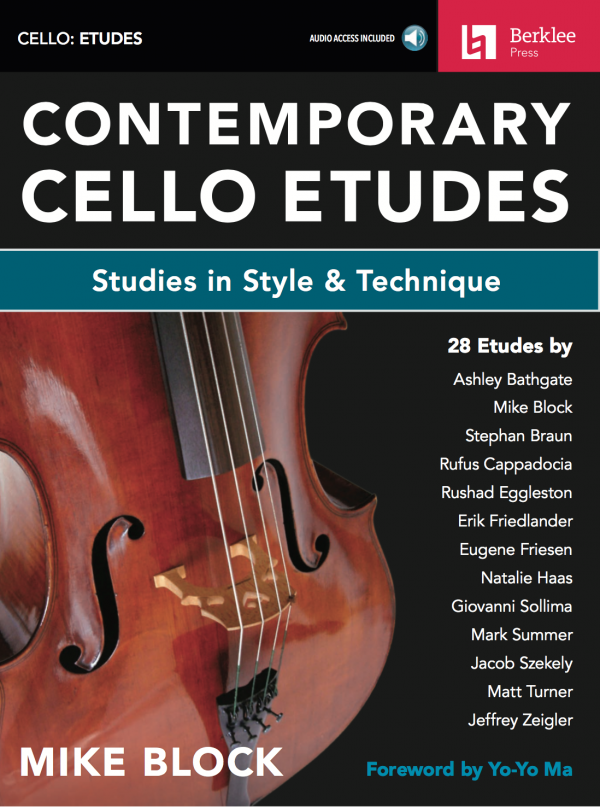 """Contemporary Cello Etudes: Studies in Style and Technique"", book + unpublished bonus etudes - Progressively ordered from Beginner to Advanced, all 28 published etudes come with the following:Background Text on the style/techniqueTips on how to practice it and master your performanceOnline reference recordings played by the composers (You can access these with a code that comes with the book)A list of ""Ideas for Further Practice"" (We hope that each etude is just a jumping off point for your own creative journey!)"
