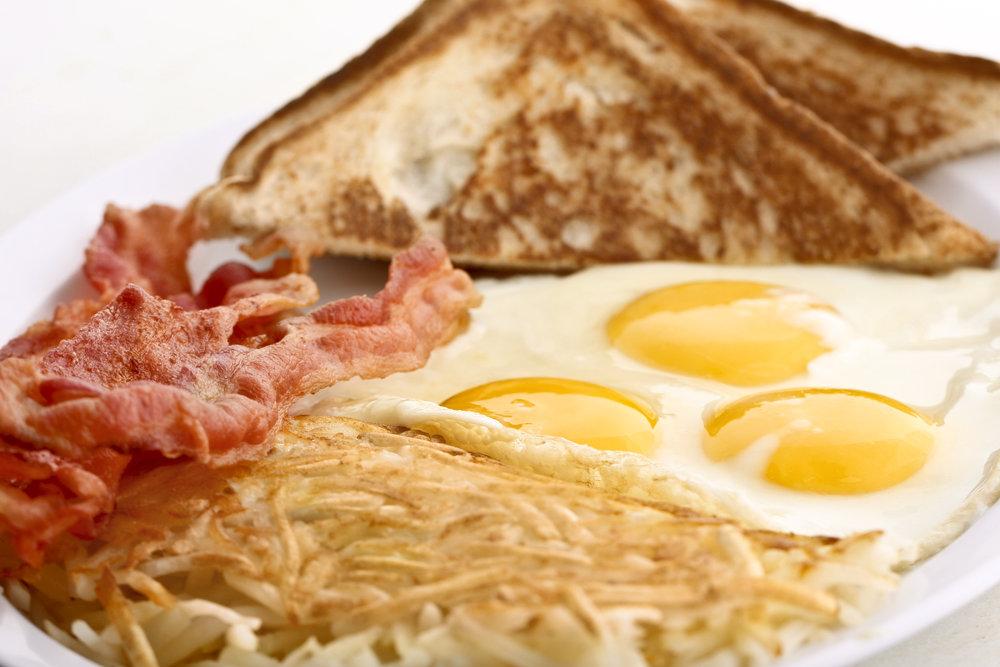 Breakfast special.