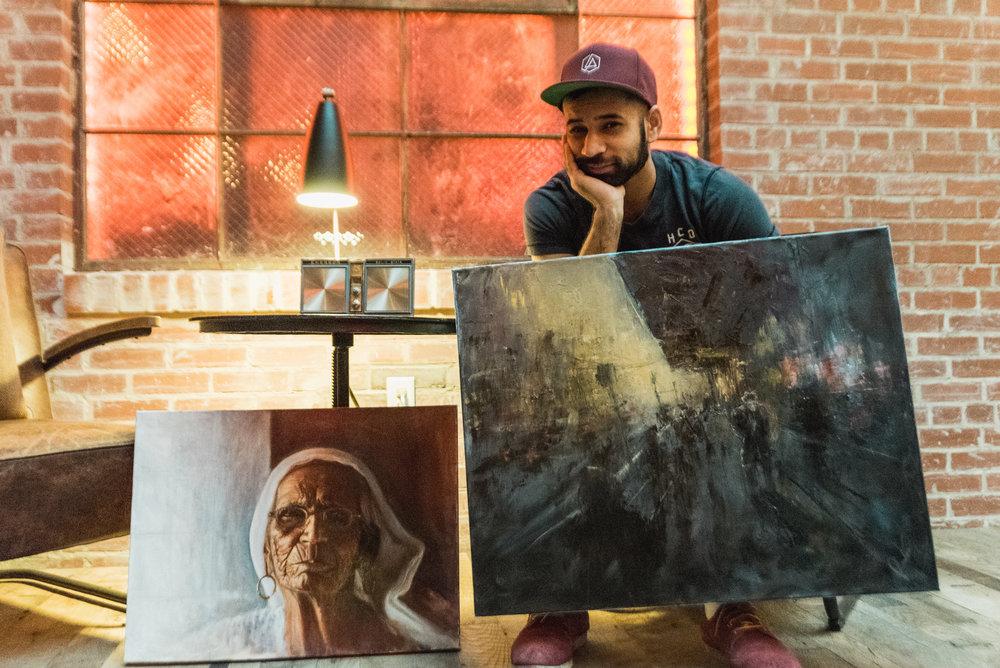 Ramandip Singh // Painter
