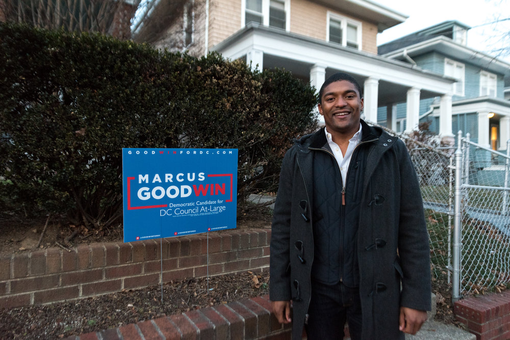 Marcus Goodwin // DC Council Candidate