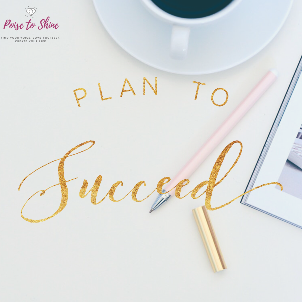 Plan to Succeed Coaching program for time management and action plans