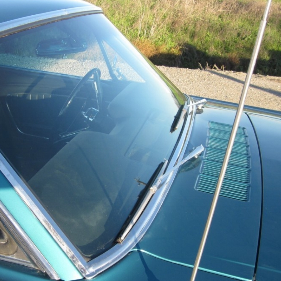 Mustang Cowl Area