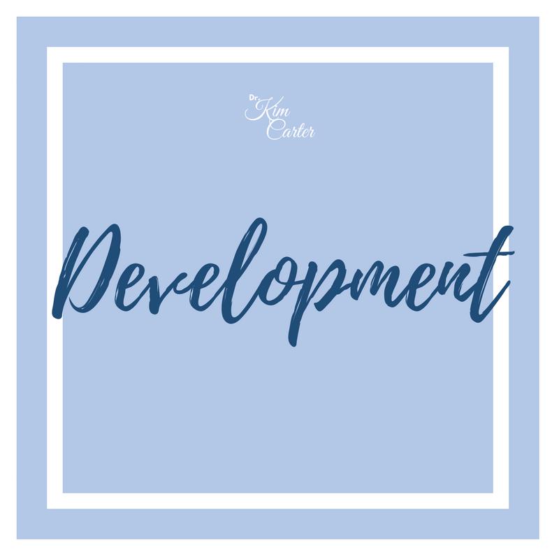 Dr. Kim Carter Development Button
