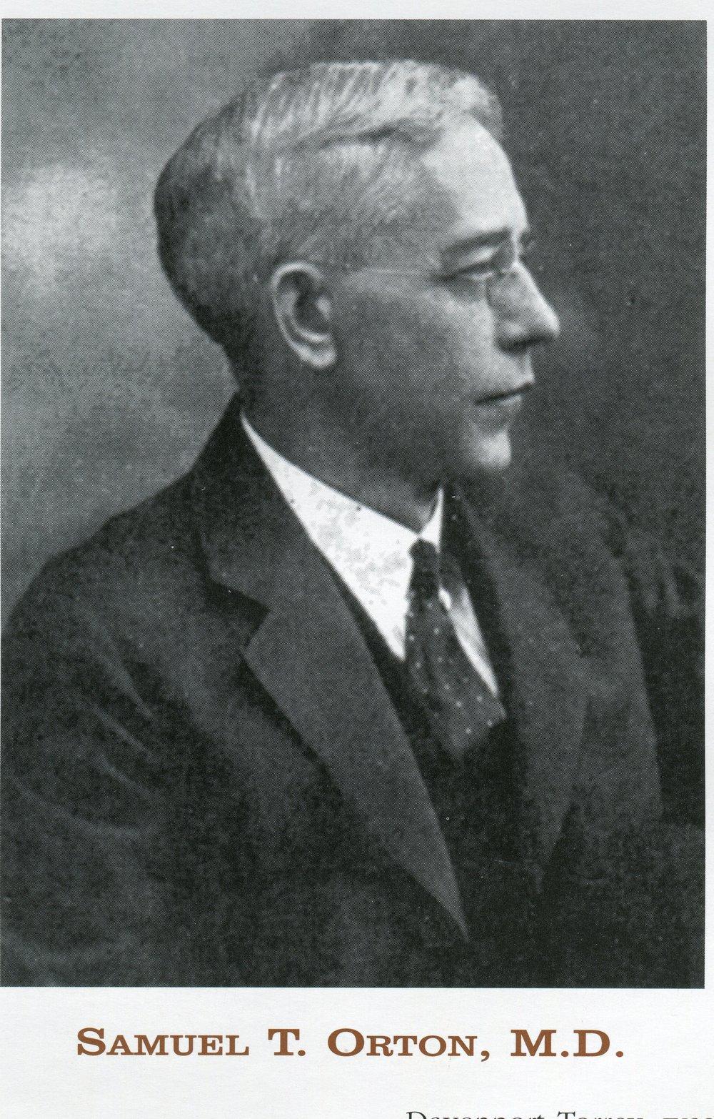 Samuel Orton, MD