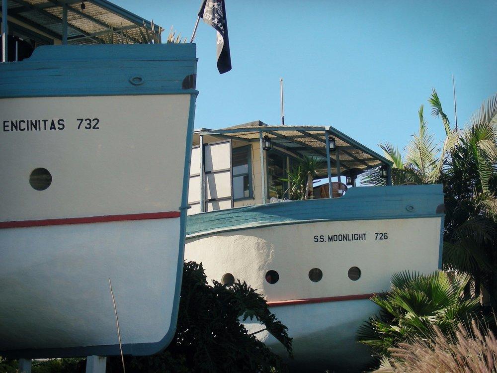 Boats, Encinitas Walking Tour