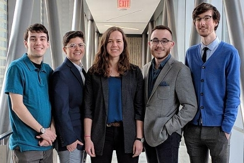 Esch Entrepreneurship Award    March 28, 2018   Awarded  $10,000  prize for Capstone Design Project funded by The Esch Foundation