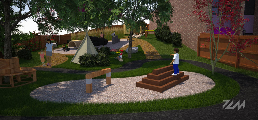 Ages 3-5 Playground Rendering