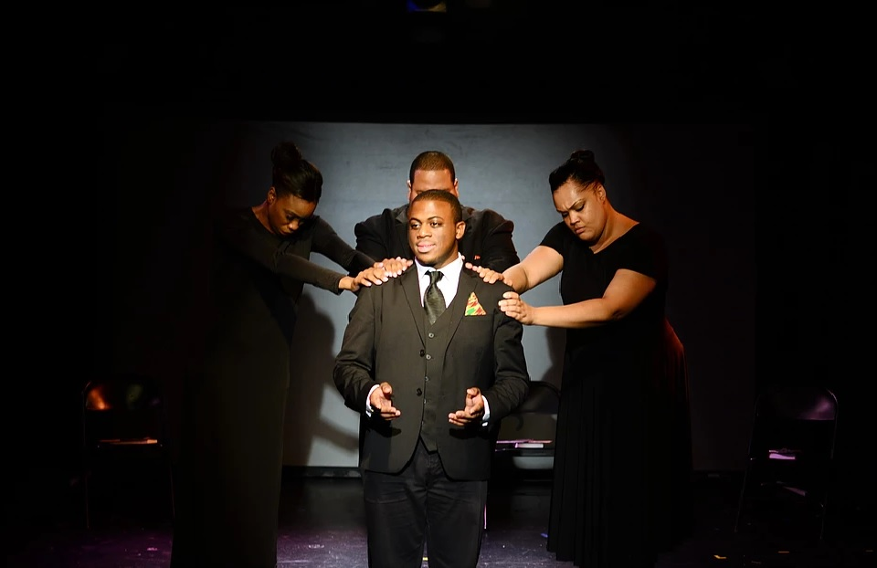 as Barack Obama in Mother Emanuel