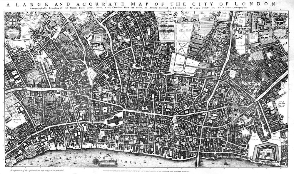 The City of London with its torturous streets