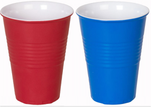 Red Blue Cups