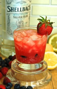 Rum Berry Crush