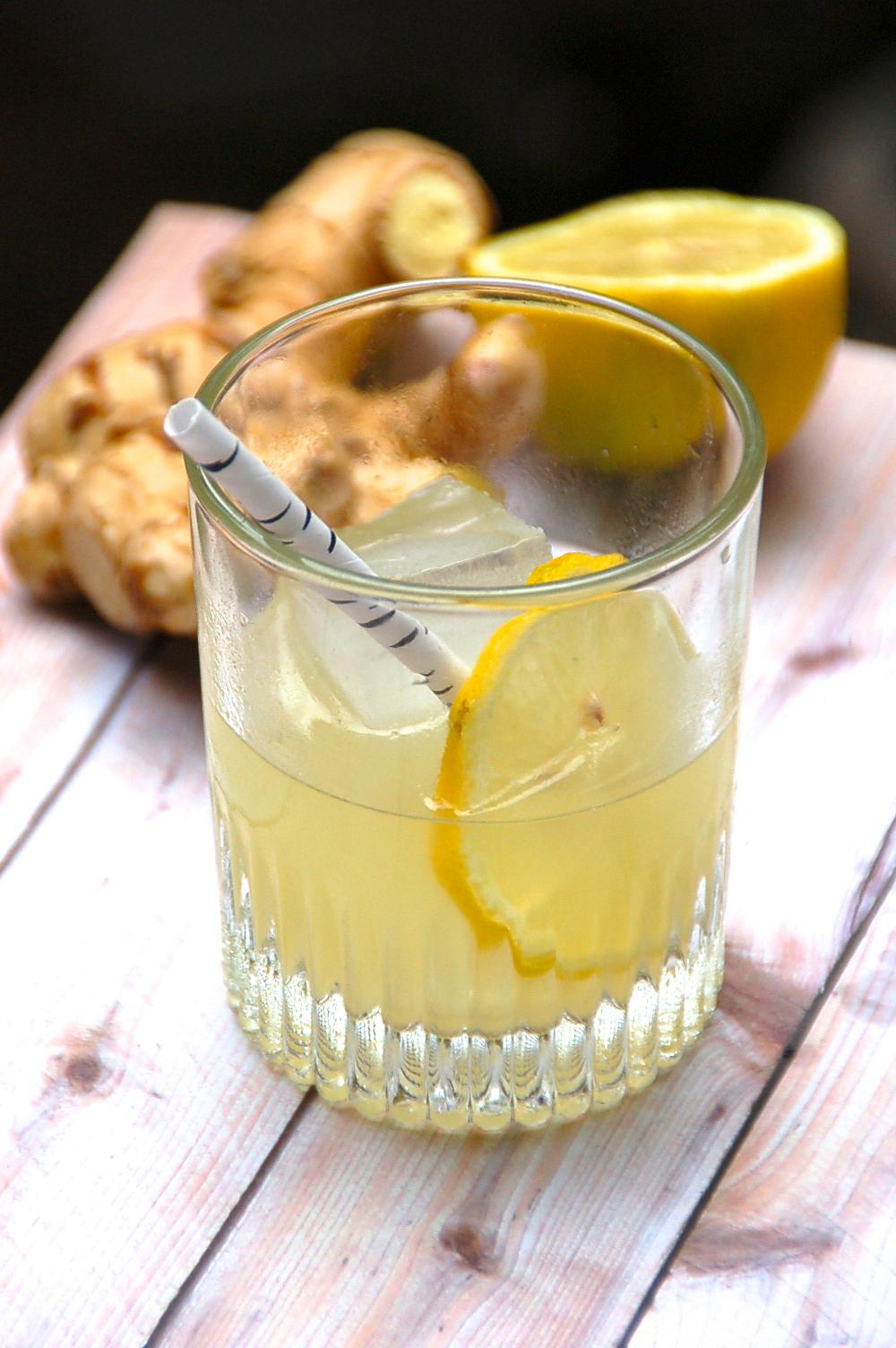 Lemon Ginger Gin