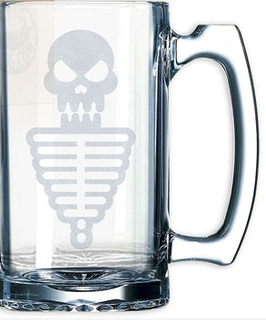 Skeleton Beer Mug