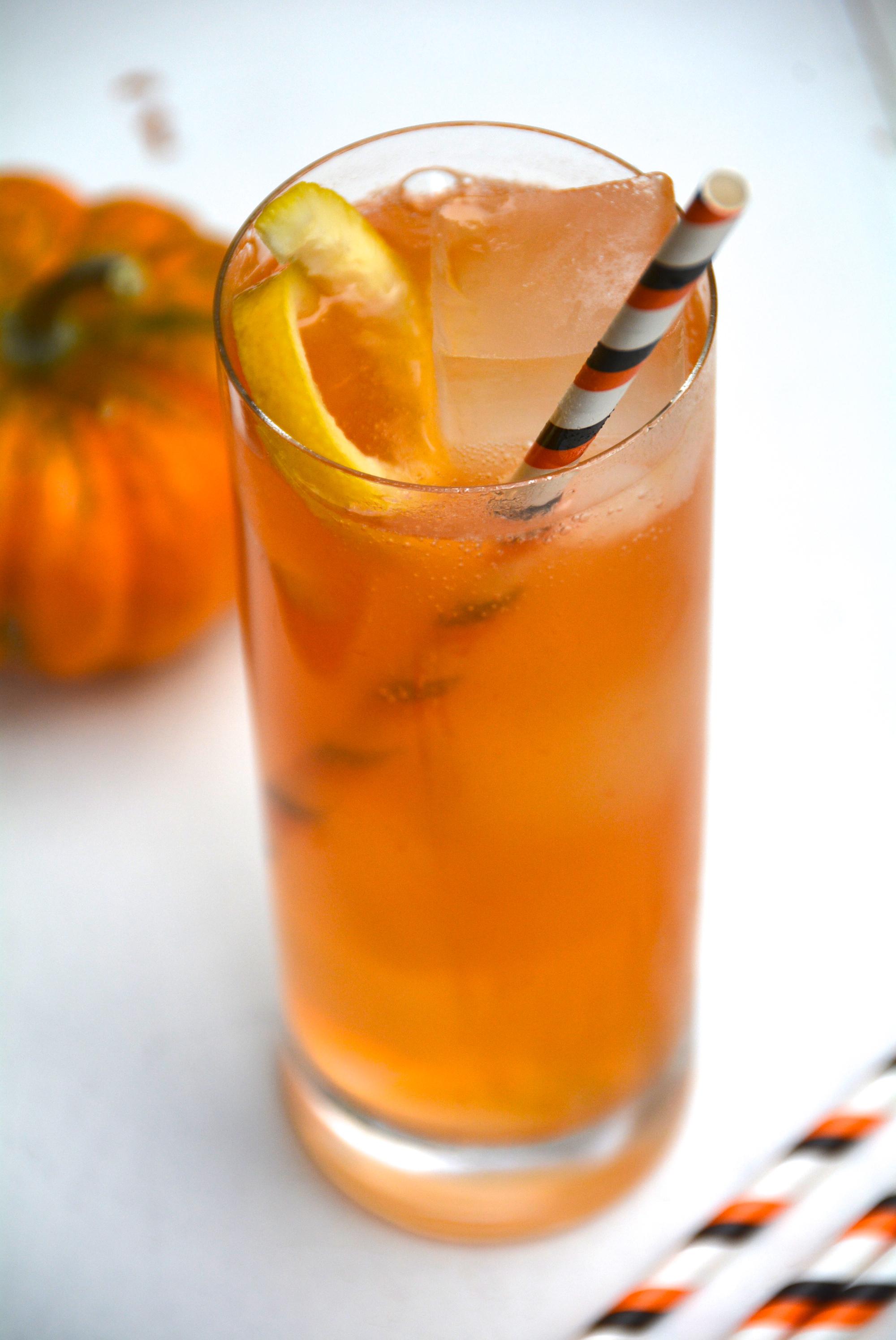 Sparkling Orange Vodka