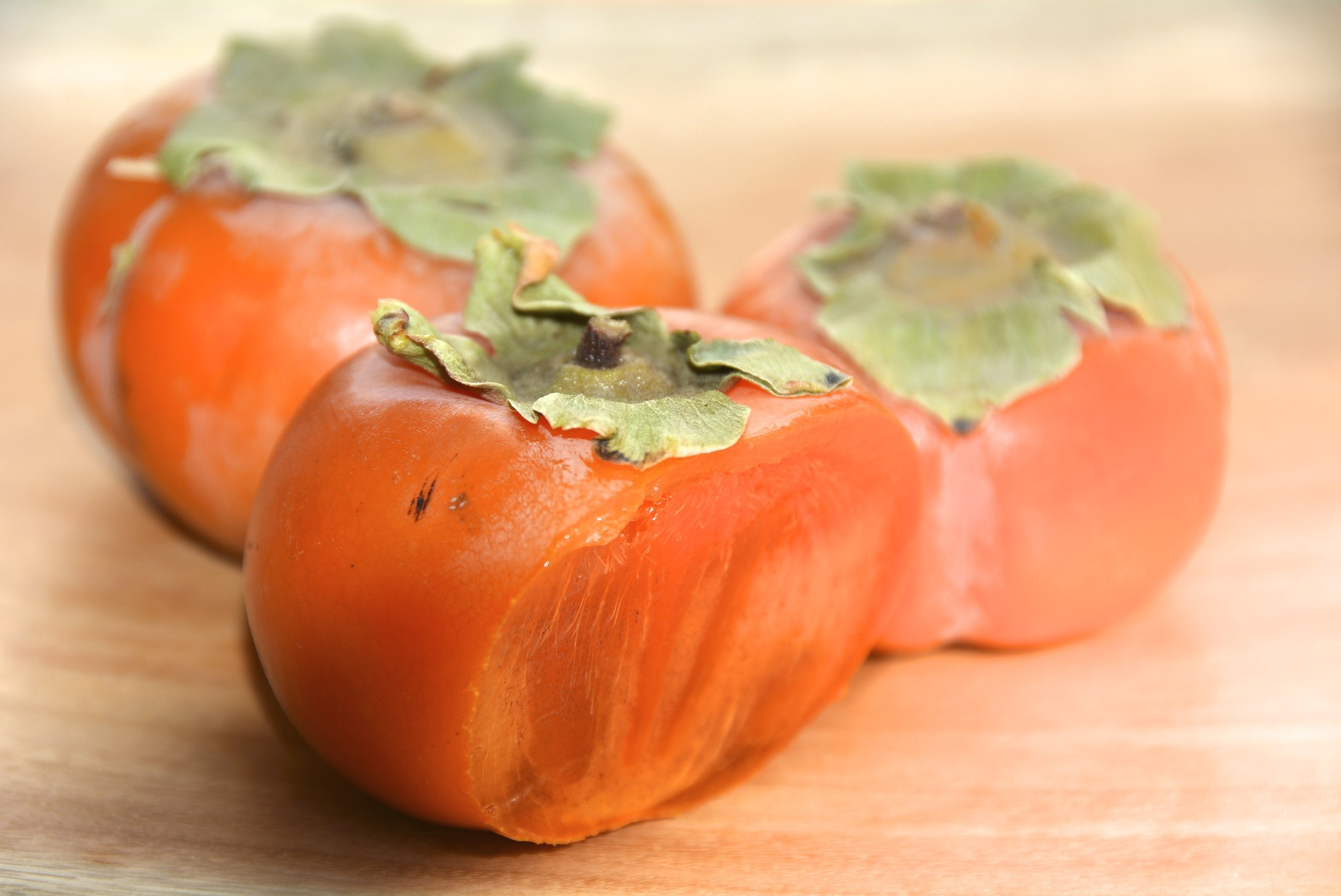 Persimmons Chopped