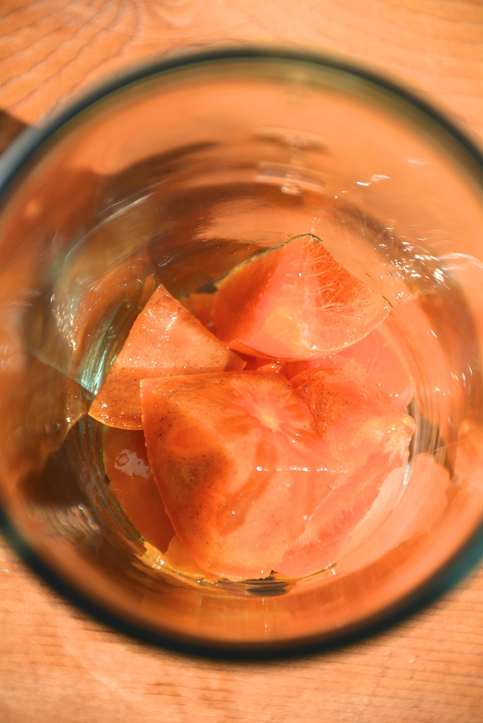 Persimmons in Rum 1