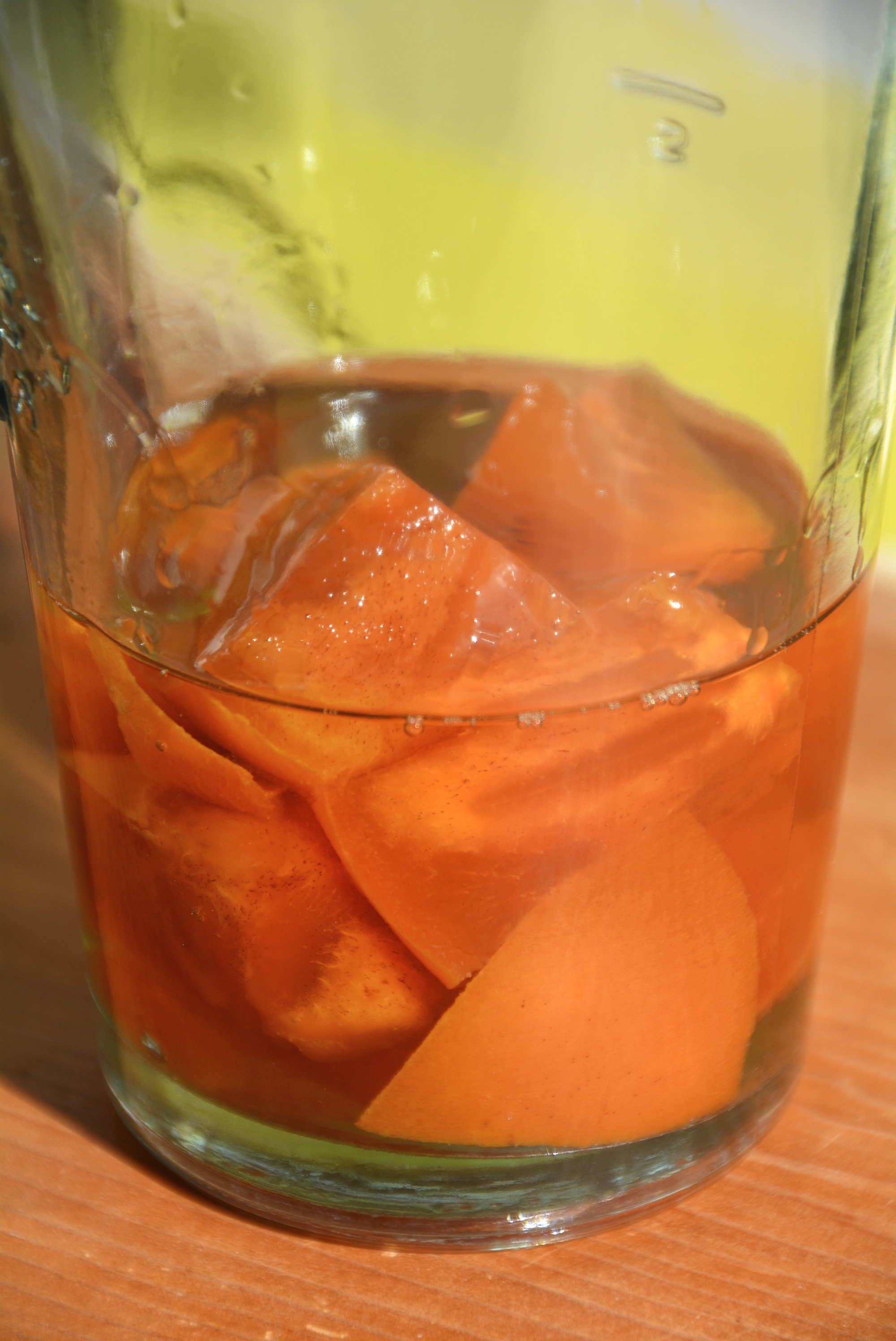 Persimmons in Rum 2