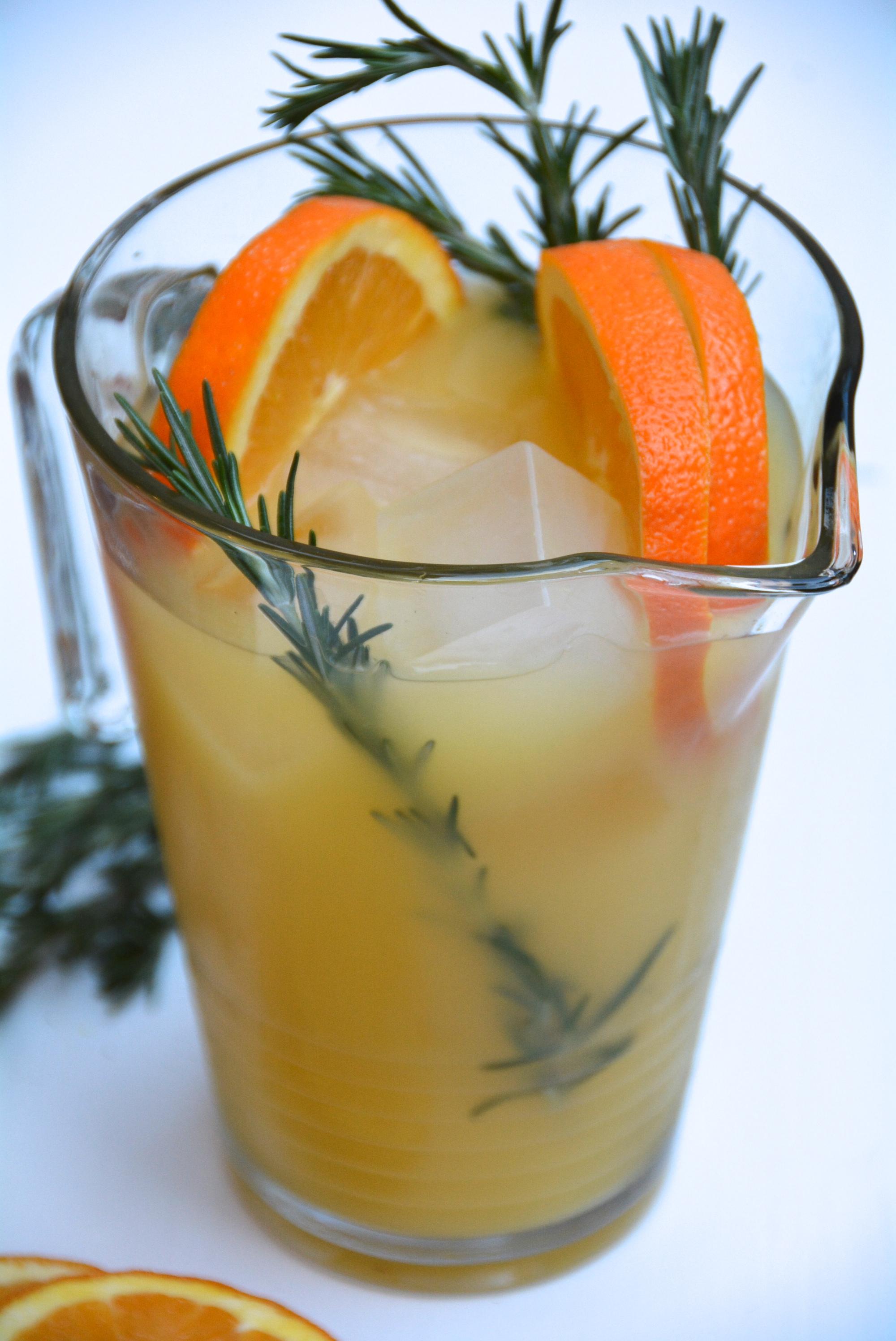 Rosemary Orange Punch