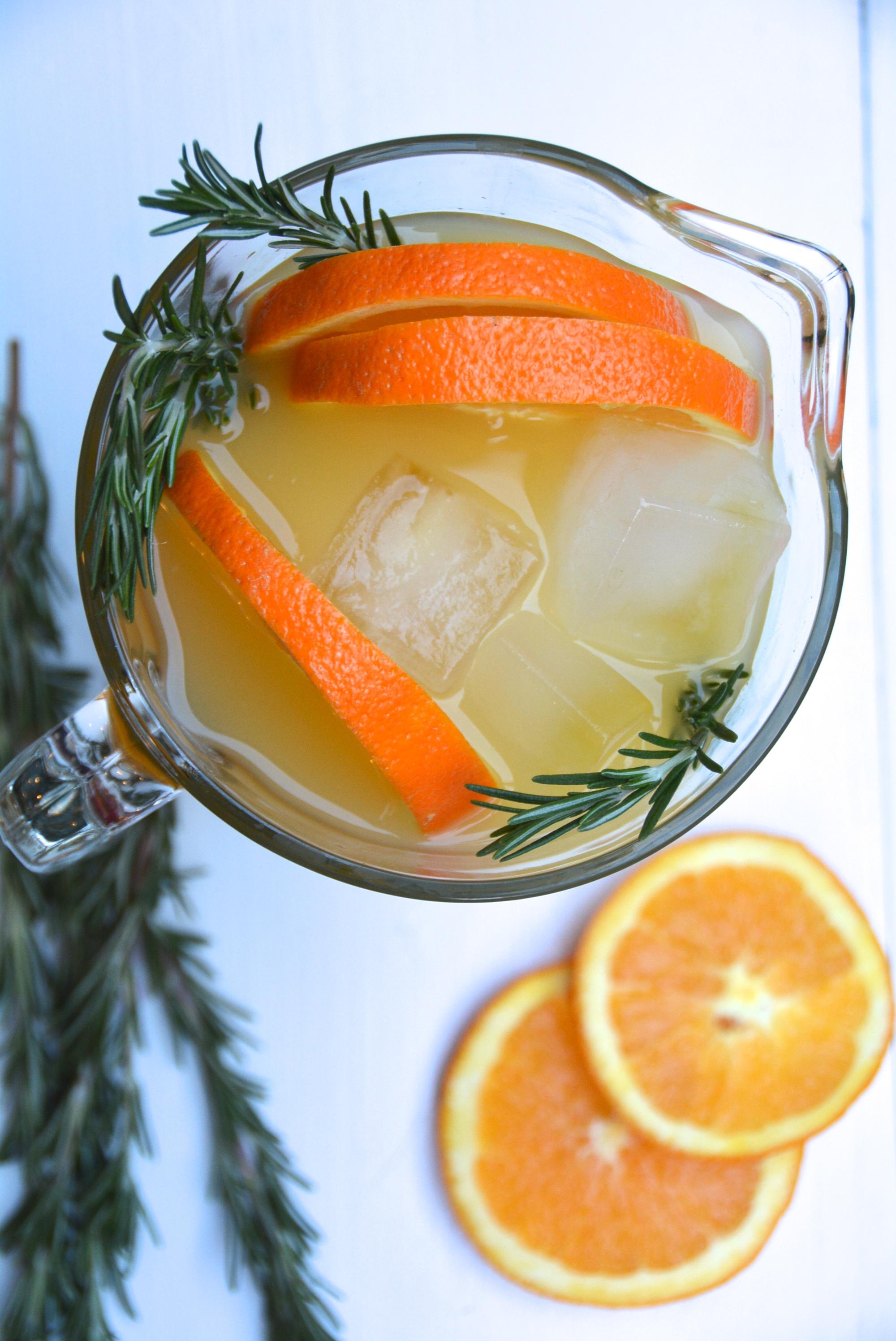 Rosemary orange Punch 2